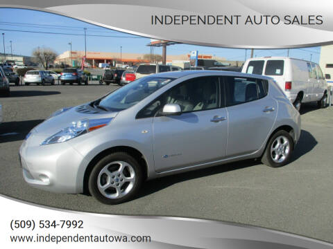 2012 Nissan LEAF for sale at Independent Auto Sales in Spokane Valley WA