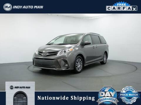 2018 Toyota Sienna for sale at INDY AUTO MAN in Indianapolis IN