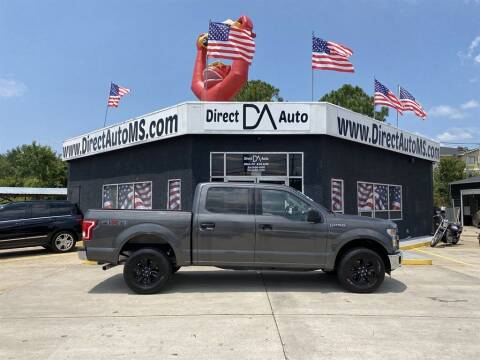 2016 Ford F-150 for sale at Direct Auto in D'Iberville MS