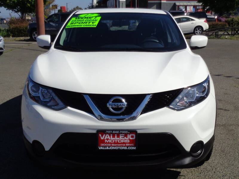 2017 Nissan Rogue Sport for sale at Vallejo Motors in Vallejo CA