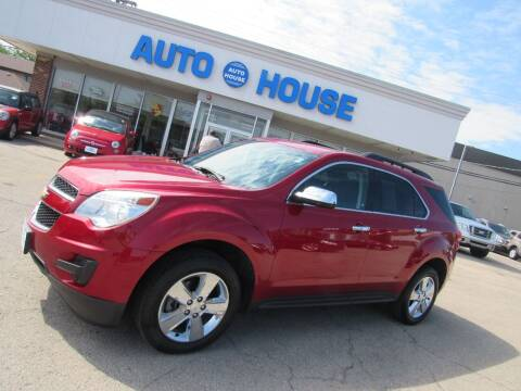 2013 Chevrolet Equinox for sale at Auto House Motors in Downers Grove IL