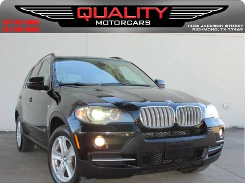 2007 BMW X5 for sale at QUALITY MOTORCARS in Richmond TX