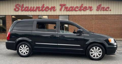 2014 Chrysler Town and Country for sale at STAUNTON TRACTOR INC in Staunton VA