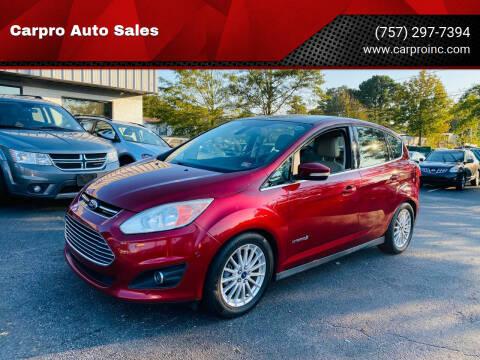 2013 Ford C-MAX Hybrid for sale at Carpro Auto Sales in Chesapeake VA