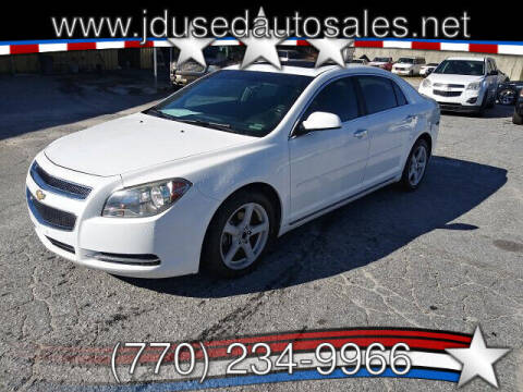 2012 Chevrolet Malibu for sale at J D USED AUTO SALES INC in Doraville GA