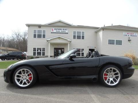 2004 Dodge Viper for sale at SOUTHERN SELECT AUTO SALES in Medina OH