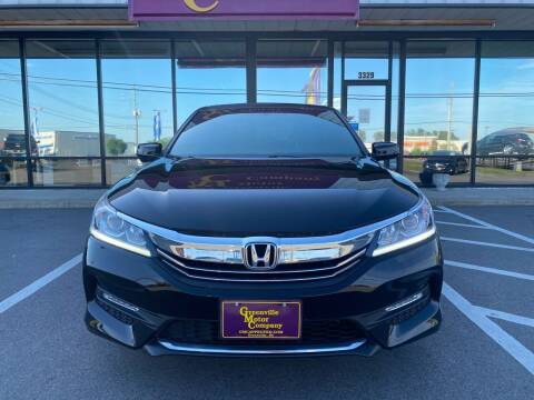 2016 Honda Accord for sale at Greenville Motor Company in Greenville NC