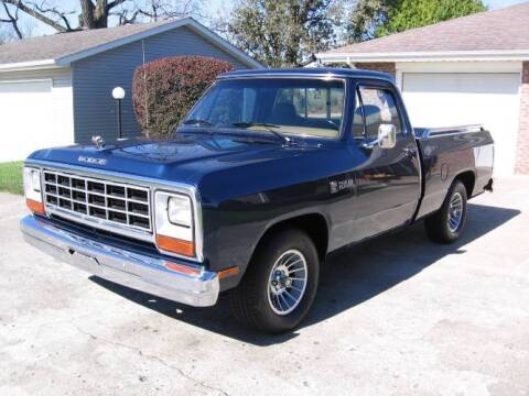 1982 Dodge Ram for sale at Classic Car Deals in Cadillac MI