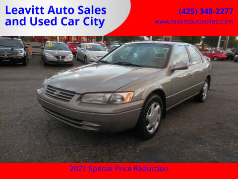 1998 Toyota Camry for sale at Leavitt Auto Sales and Used Car City in Everett WA
