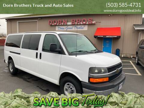 2014 Chevrolet Express Passenger for sale at Dorn Brothers Truck and Auto Sales in Salem OR