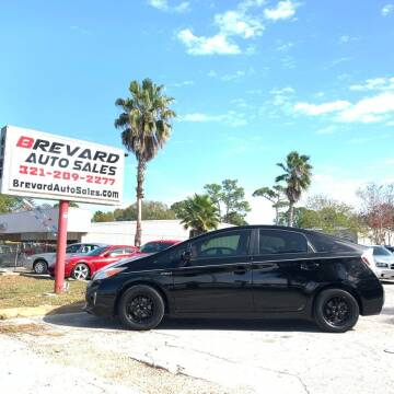 2012 Toyota Prius for sale at Brevard Auto Sales in Palm Bay FL