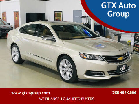 2014 Chevrolet Impala for sale at GTX Auto Group in West Chester OH