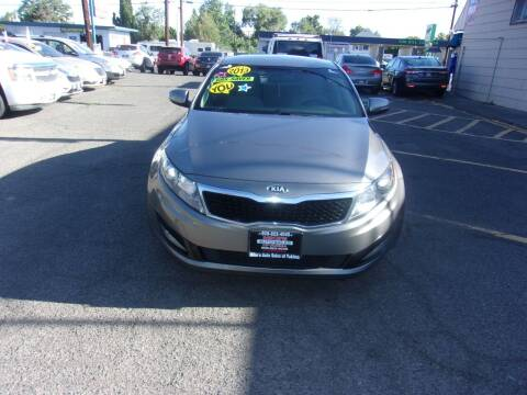 2013 Kia Optima for sale at Mike's Auto Sales in Yakima WA
