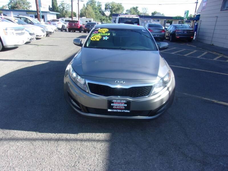 2013 Kia Optima for sale at Mike's Auto Sales in Yakima WA