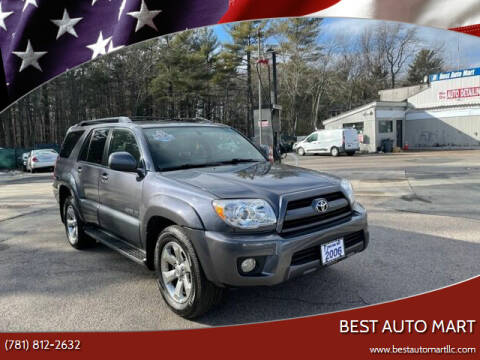 2006 Toyota 4Runner for sale at Best Auto Mart in Weymouth MA