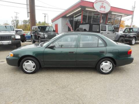 2001 Chevrolet Prizm for sale at The Carriage Company in Lancaster OH