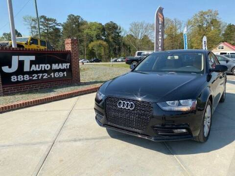 2013 Audi A4 for sale at J T Auto Group in Sanford NC