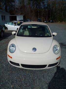 2007 Volkswagen New Beetle Convertible for sale at Locust Auto Imports in Locust NC