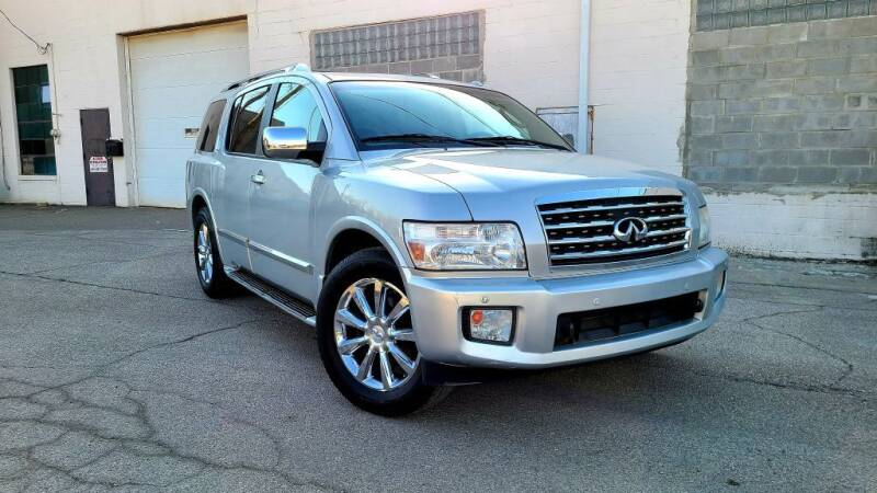 2008 Infiniti QX56 for sale at JT AUTO in Parma OH