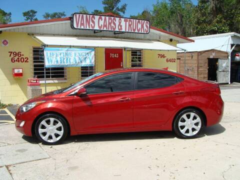 2011 Hyundai Elantra for sale at VANS CARS AND TRUCKS in Brooksville FL