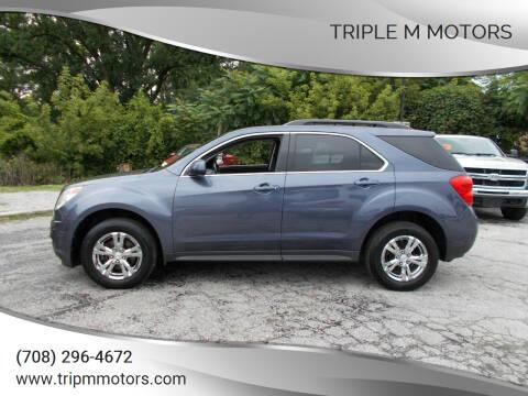 2013 Chevrolet Equinox for sale at Triple M Motors in Saint John IN