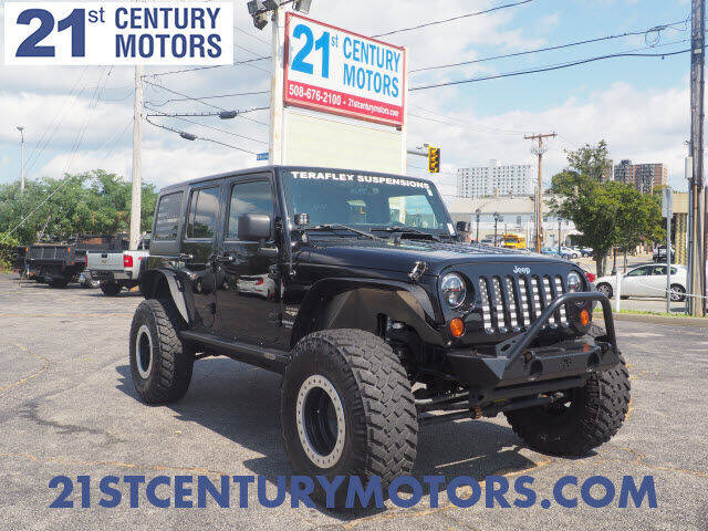 2011 Jeep Wrangler Unlimited for sale at 21st Century Motors in Fall River MA