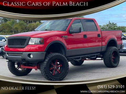 2008 Ford F-150 for sale at Classic Cars of Palm Beach in Jupiter FL