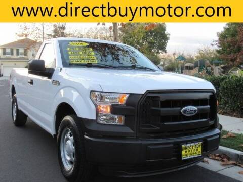 2016 Ford F-150 for sale at Direct Buy Motor in San Jose CA