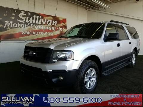 2017 Ford Expedition EL for sale at SULLIVAN MOTOR COMPANY INC. in Mesa AZ