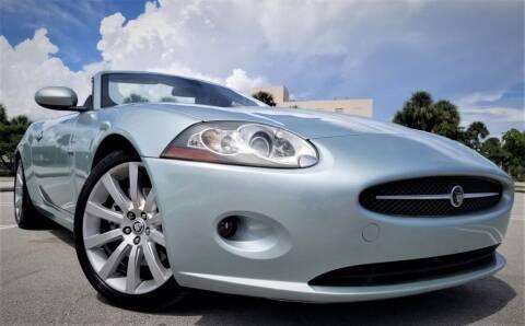 2007 Jaguar XK-Series for sale at Progressive Motors in Pompano Beach FL