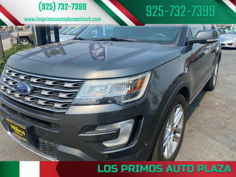 2016 Ford Explorer for sale at Los Primos Auto Plaza in Antioch CA