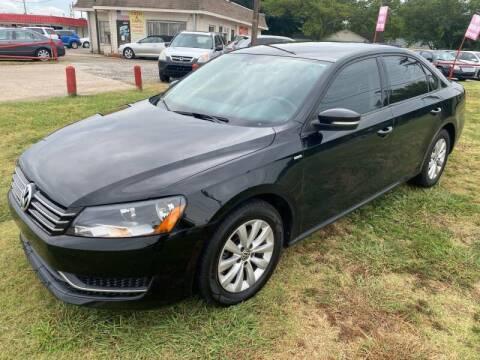 2014 Volkswagen Passat for sale at Texas Select Autos LLC in Mckinney TX