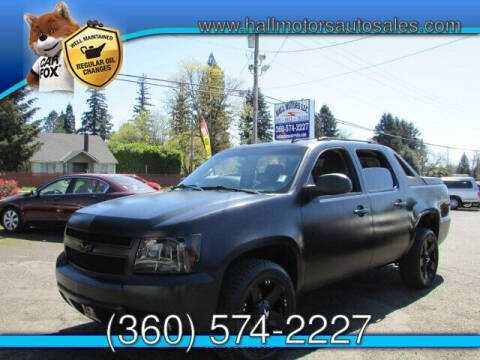 2008 Chevrolet Avalanche for sale at Hall Motors LLC in Vancouver WA