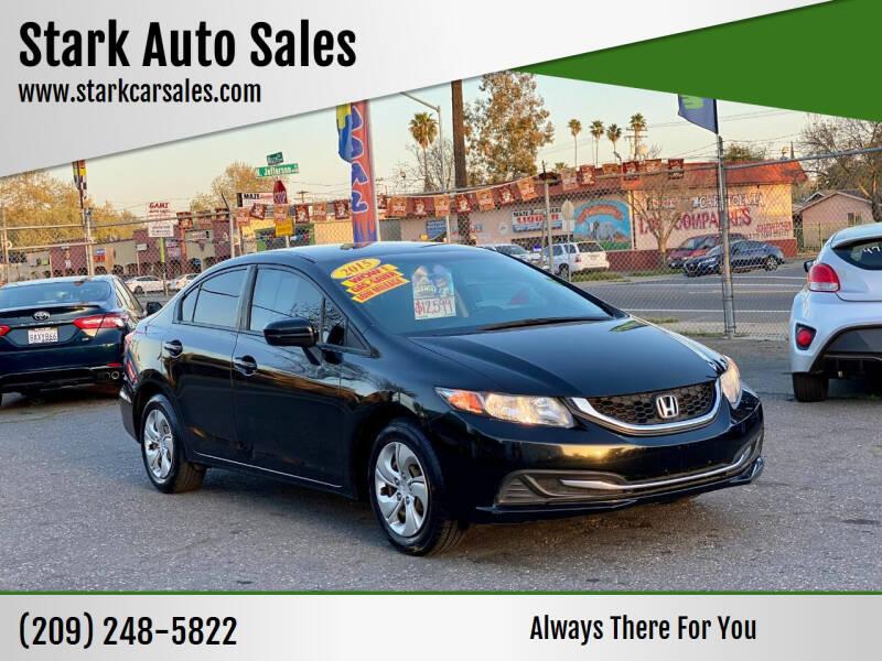 2015 Honda Civic for sale at Stark Auto Sales in Modesto CA