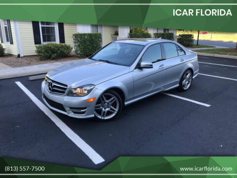 2014 Mercedes-Benz C-Class for sale at ICar Florida in Lutz FL