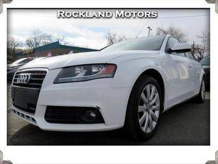 2012 Audi A4 for sale at Rockland Automall - Rockland Motors in West Nyack NY