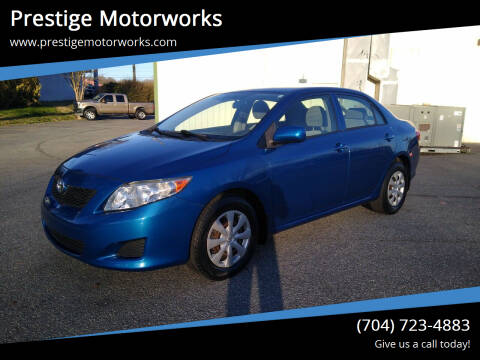 2009 Toyota Corolla for sale at Prestige Motorworks in Concord NC