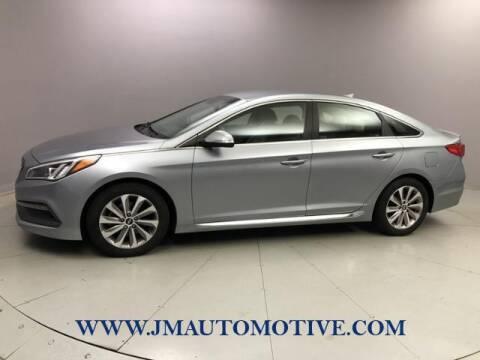 2015 Hyundai Sonata for sale at J & M Automotive in Naugatuck CT