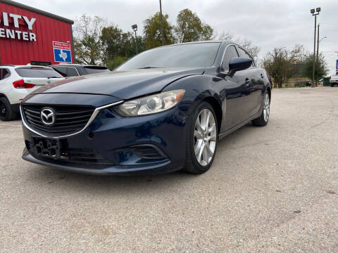 2016 Mazda MAZDA6 for sale at Space City Auto Center in Houston TX