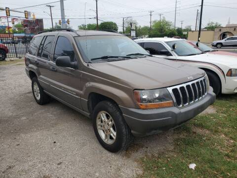 2002 Jeep Grand Cherokee for sale at C.J. AUTO SALES llc. in San Antonio TX