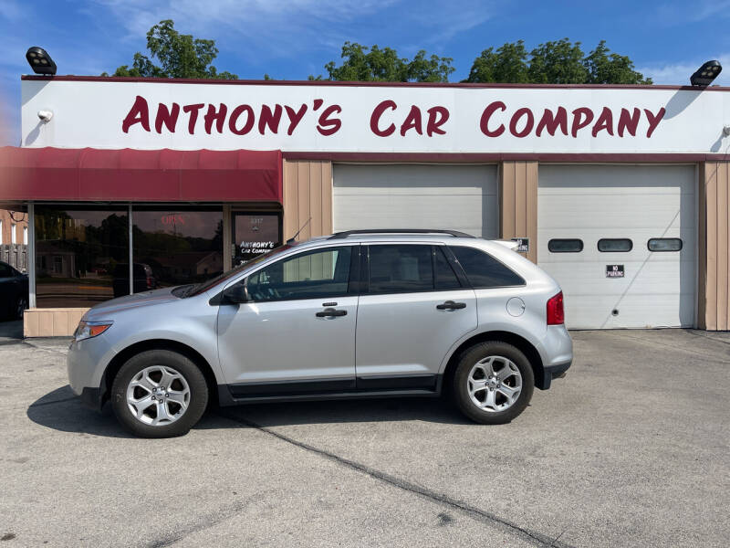 2012 Ford Edge for sale at Anthony's Car Company in Racine WI