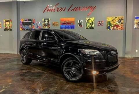 2013 Audi Q7 for sale at FALCON AUTO BROKERS LLC in Orlando FL