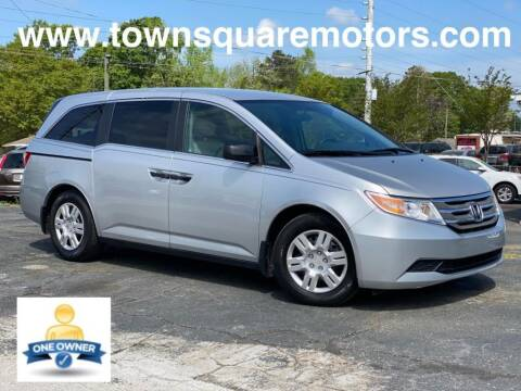 2012 Honda Odyssey for sale at Town Square Motors in Lawrenceville GA