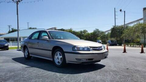 2002 Chevrolet Impala for sale at Select Autos Inc in Fort Pierce FL
