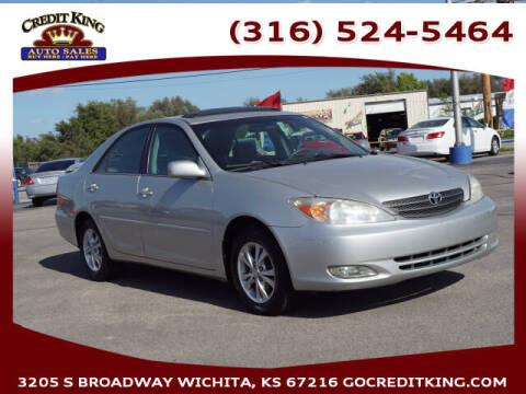 2004 Toyota Camry for sale at Credit King Auto Sales in Wichita KS