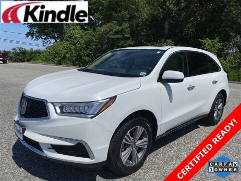 2020 Acura MDX for sale at Kindle Auto Plaza in Cape May Court House NJ