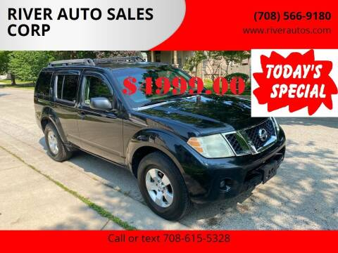 2008 Nissan Pathfinder for sale at RIVER AUTO SALES CORP in Maywood IL