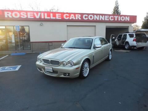 2008 Jaguar XJ-Series for sale at ROSEVILLE CAR CONNECTION in Roseville CA