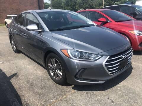 2017 Hyundai Elantra for sale at City to City Auto Sales in Richmond VA