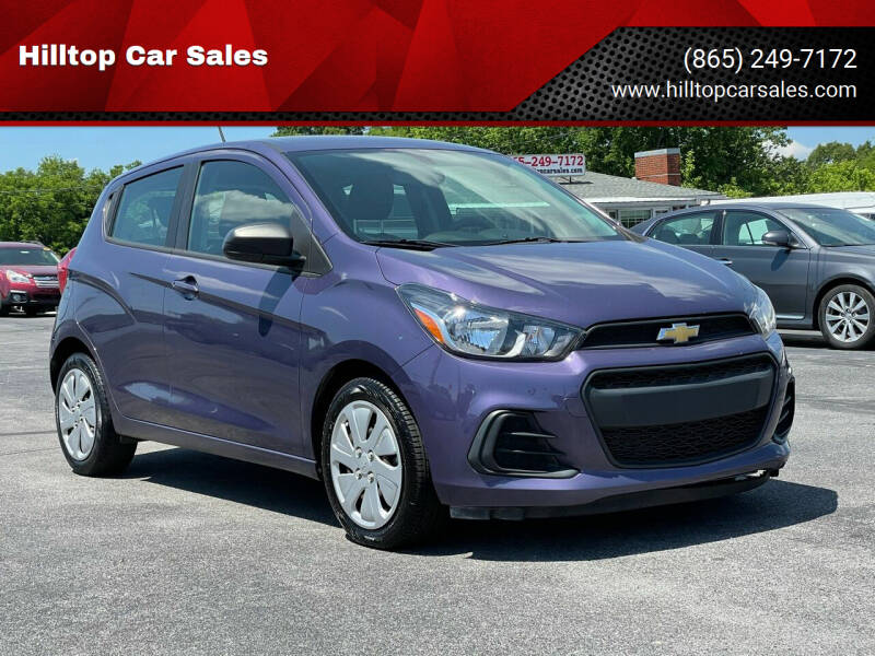 2017 Chevrolet Spark for sale at Hilltop Car Sales in Knox TN
